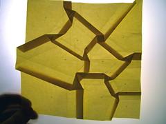 random polygon tessellation, test 1 (twisted)