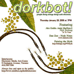 Dorkbot Talk on Nodism (Dan Zen) Tags: dork dorkbot node hierarchy interaccess danzen nodism