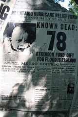 Hurricane Hazel newspaper headlines, 1954, #2