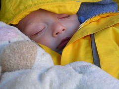 Tired and crashed out in the stroller (mamaonthego) Tags: sleep tc28closeup