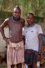 Two mates (CharlesFred) Tags: africa people african local dailylife namibia himba africans southernafrica kaokoland