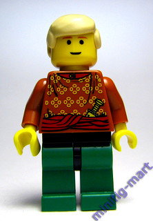 Custom Aquaman minifig