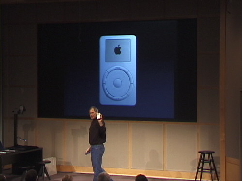 (Oct 23, 2001)introduction of the  Original iPod