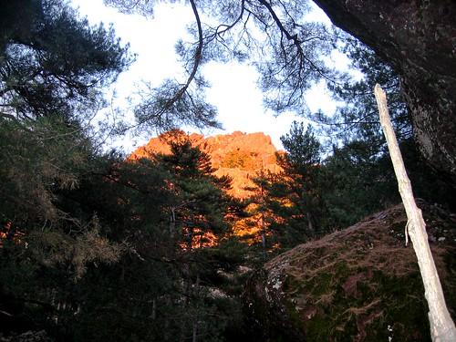 Coucher de soleil au Saltare