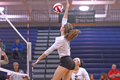 IMG_8313 (SJH Foto) Tags: girls volleyball high school york delone catholic team teen teenager jump spike burst mode action shot