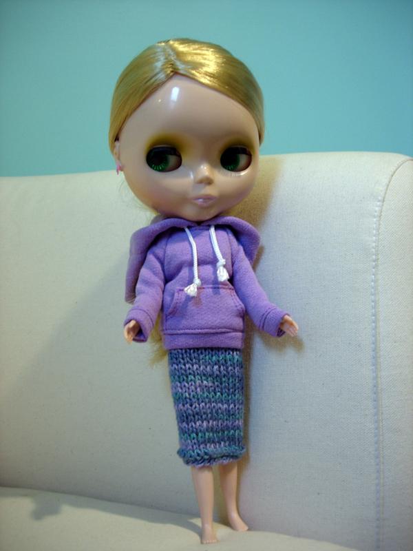 Josephine - Hoodie w/long skirt