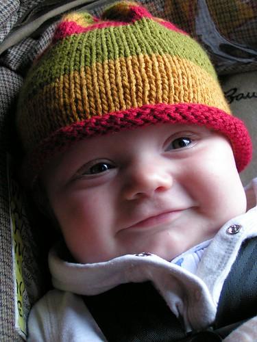 Nels' smile