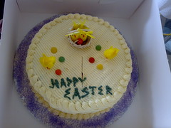 Our yummy Easter cake