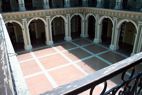 Colima - Governor's Palace Courtyard