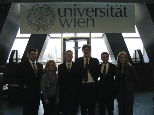 The University of Denver International Commercial Arbitration Moot Team 2006-07