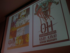 Other Heroes talk (otherheroes) Tags: eye art comics other african exhibition american comix heroes trauma