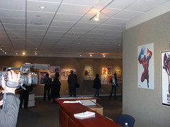 More Other Heroes Opening (otherheroes) Tags: eye art comics other african exhibition american comix heroes trauma