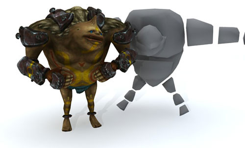 Free 3D models of the characters in Twilight Princess!