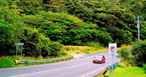 Driving to Wollongong