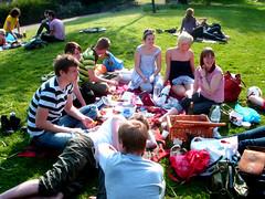 Victoria Park picnic