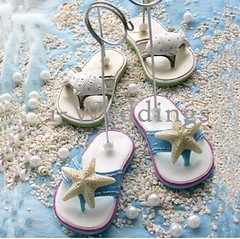 flipflop2 (i-Weddings: Bringing your dreams to life) Tags: placecard iweddingsbomboniereweddingfavoursweddingfavors placecardholder