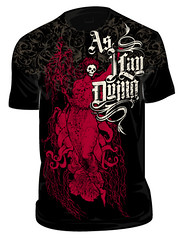 Apparel | As I Lay Dying | Dead Goddess (chrisrushing) Tags: chris metal illustration dead goddess band tshirt merch metalcore vector dara apparel rushing asilaydying chrisrushing thedara