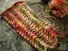 4.26 (velostricken) Tags: knitting knit yarn lastminuteknittedgifts chevronscarf socktopus socksthatrock interestingness136 i500 bluemoonfiberarts foofaraw