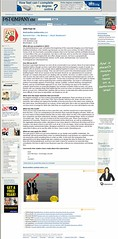 Business Logs in Fast Company - 2005 (Matthew Oliphant) Tags: businesslogs fastcompany