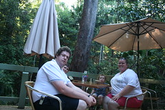 Afternoon tea at Sea Acres (David Windeyer) Tags: david geotagged joel isaac australia nanette portmacquarie seaacres geo:lon=152930052