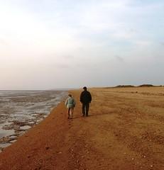 Tim and Lorna walk and talk