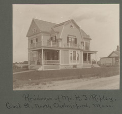 Historical photograph of house in North Chelmsford, MA