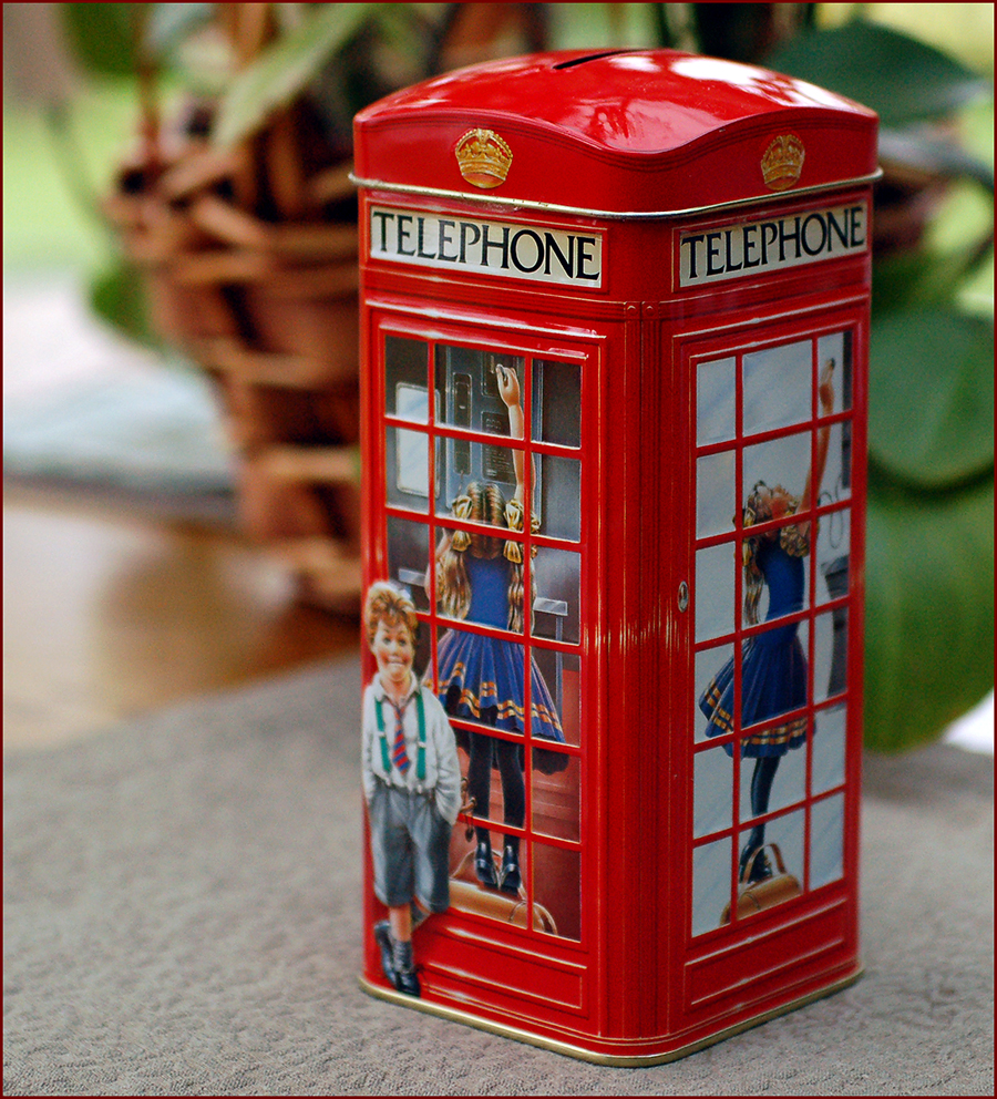 phone booth miniature