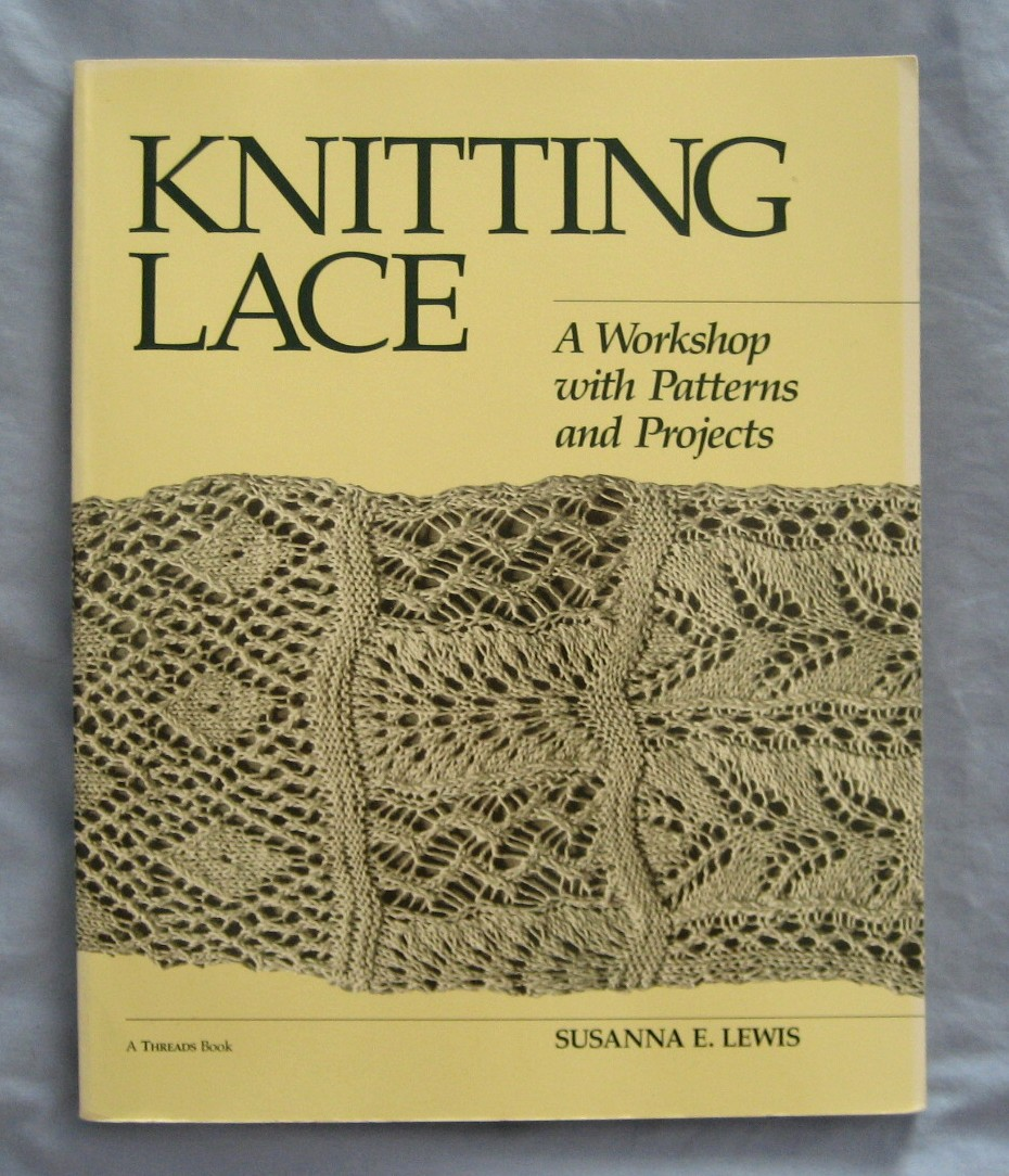 knitting lace book