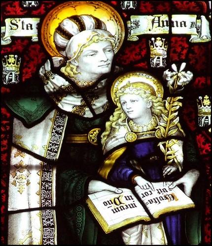 William Leach|St Anne teaching the Virgin to read