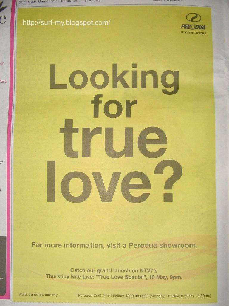 Perodua Viva Paper Ad