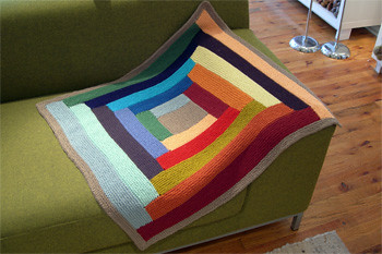 Laura's Log Cabin Blanket