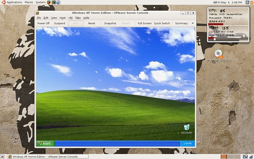 VMware Running XP on Ubuntu 7.04