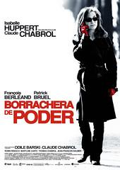 Poster de Borrachera de Poder Claude Chabrol Isabelle Huppert L'Ivresse du pouvoir