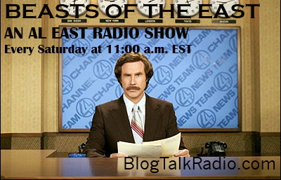 Beasts Of The East Radio Show…Take 2