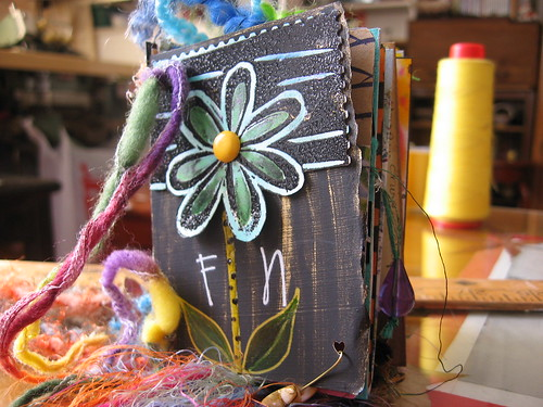 funky nature atc chunky book
