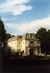 Villa Volta in de avondzon
