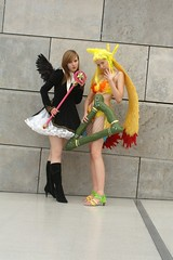 Card Captor Sakura / Siren, Final Fantasy VIII (cosplay shooter) Tags: costumes girls anime comics costume comic cosplay manga leipzig card final fantasy convention sakura cosplayer viii finalfantasy siren rollenspiel buchmesse 2007 roleplay lbm captor leipzigerbuchmesse 50000z x201207