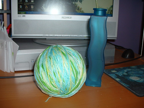 The one of a kind ball of yarn.