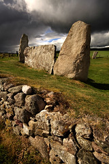Stones (Szmytke) Tags: red moon history topf25 field topc25 topv111 stone circle landscape scotland ancient topv555 topv333 topv444 luna topv222 historic ring explore granite druid lunar neolithic inverurie aquhorthies druidic interestingness132 i500 10may07