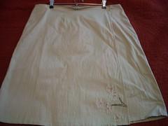Finished wrap skirt