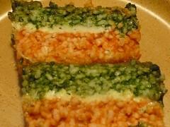 Tortino di riso tricolore / 2