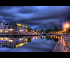 Dark clouds (u n c o m m o n) Tags: clouds reflections dark gteborg photographer excellent sigma18125 awards hdr uncommon flickrsbest nighthdr diamondclassphotographer