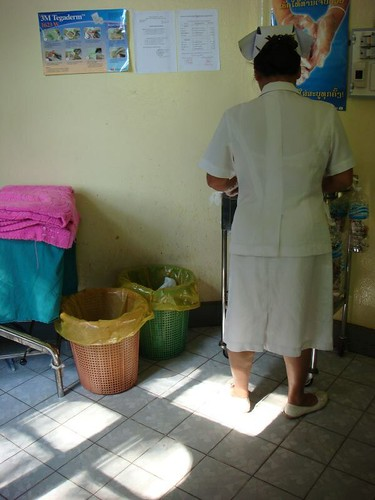 Int'l Clinic, Mahasot Hospital, Vientiane, Laos.