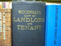 """Woodfall's Law of Landlord and Tenant"""