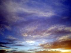 Sky over Peacock, Peak District