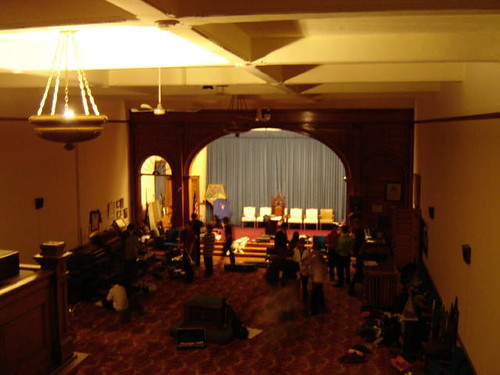 Meeting hall.