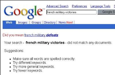 Französische Suche