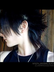 N0374_Original.Black (NymphOosis-man) Tags: male hairstyle percing