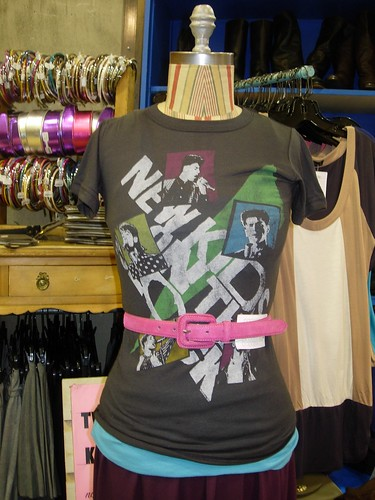 NKOTB tee at Urban Outfitters