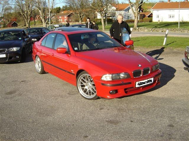 car bmw 5series imola 540i e39